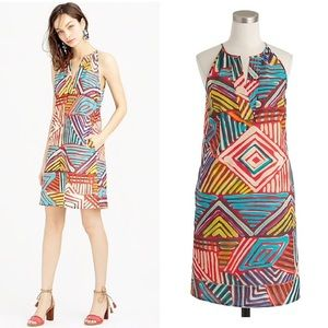 J. Crew Geo Brushstroke Sundress
